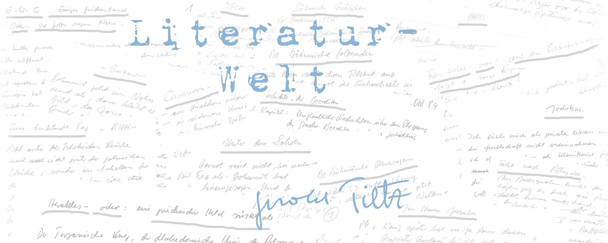 Literatur-Welt-Gerold-Tietz-Schriftbild